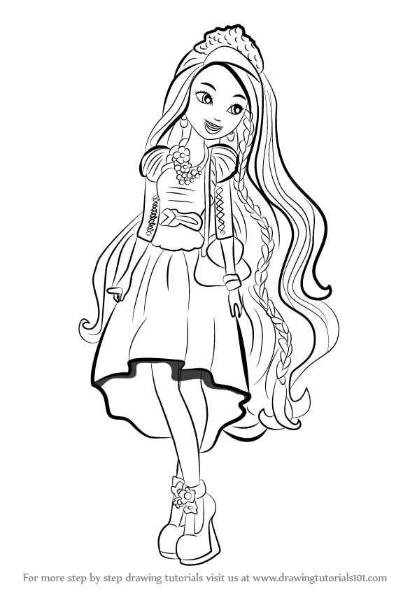 holly ohair coloring pages - photo#14