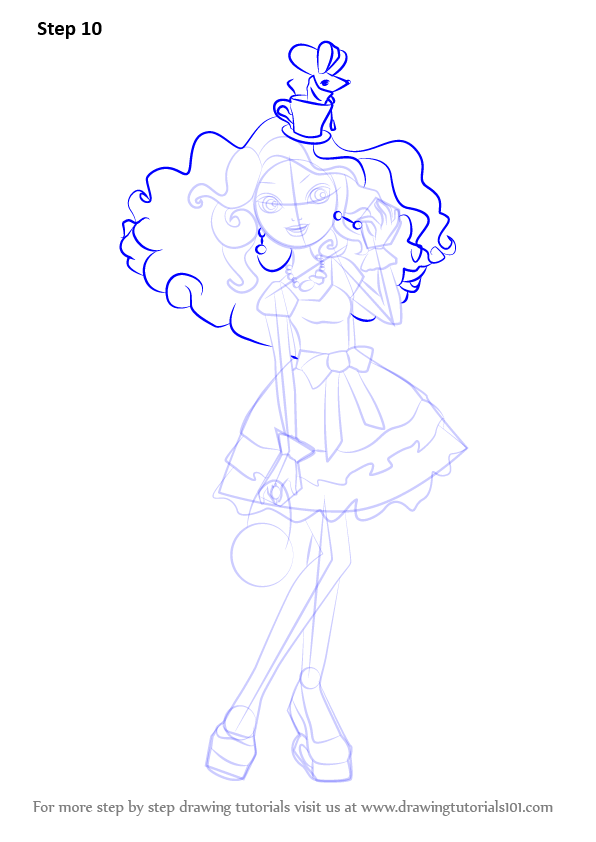 Learn How To Draw Madeline Hatter From Ever After High