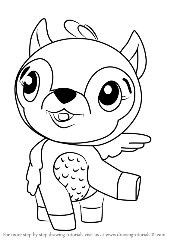 Learn How to Draw Deeraloo from