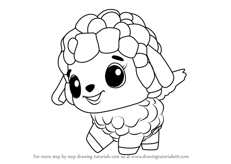 Learn How to Draw Lamblet from