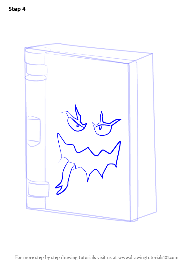 Learn How to Draw Book of Monsters from Lego Nexo Knights