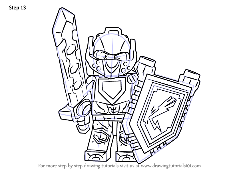 - Learn How To Draw Clay From Lego Nexo Knights (Lego Nexo Knights) Step By  Step : Drawing Tutorials
