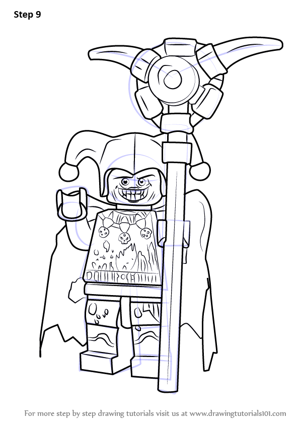 Learn How to Draw Jestro from Lego