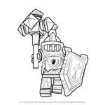How to Draw Macy Halbert from Lego Nexo Knights