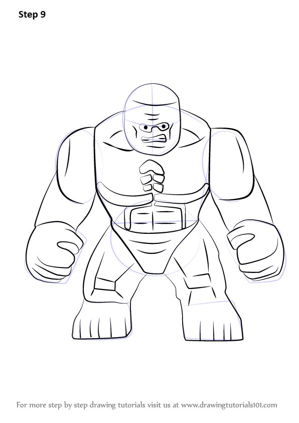 Learn How To Draw Lego Abomination Lego Step By Step