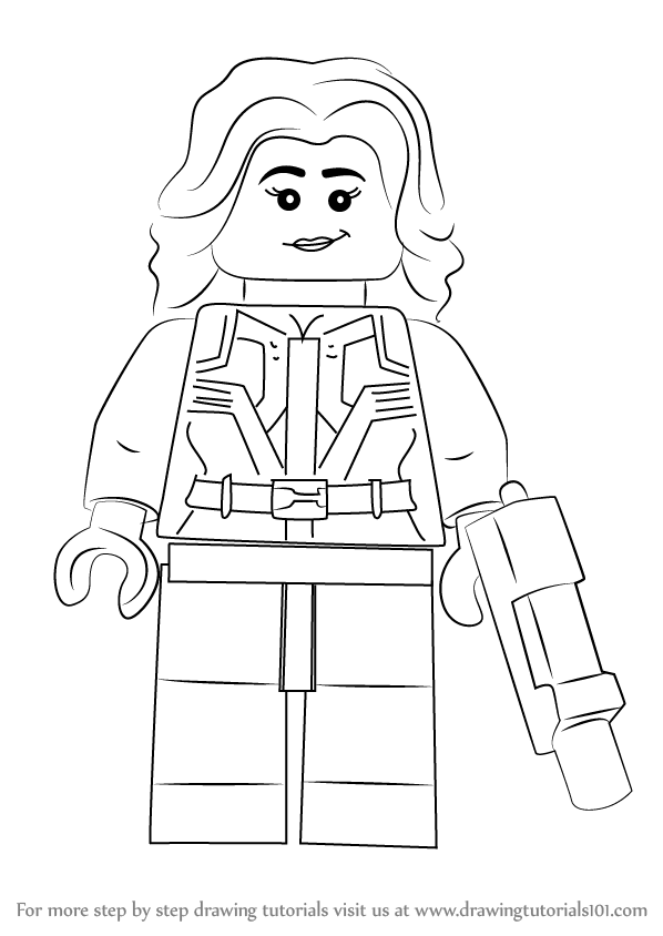 how to draw lego agent 13