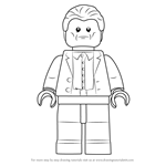 How to Draw Lego Aldrich Killian