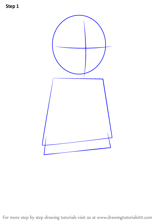 how to draw a mini man