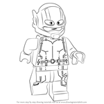 How to Draw Lego Ant-Man