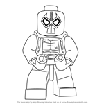 How to Draw Lego Bane