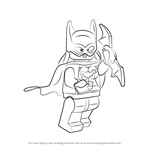 How to Draw Lego Batgirl