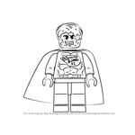 How to Draw Lego Bizarro