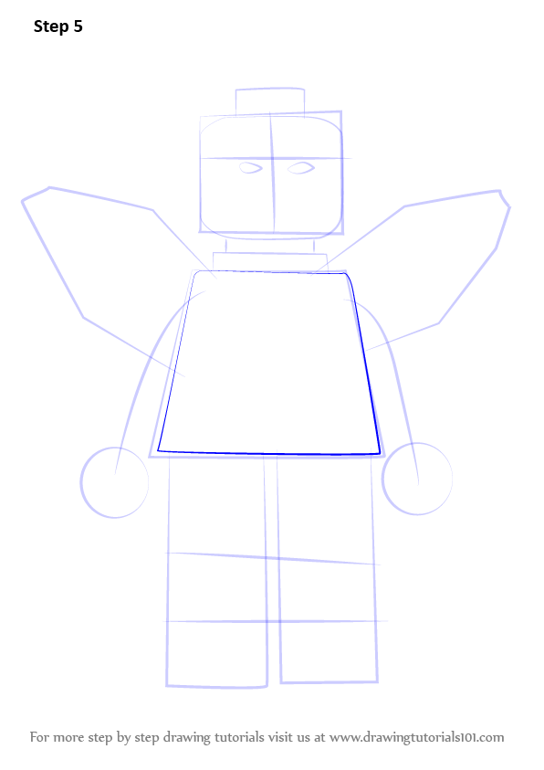 Step by step how to draw lego blue beetle for Blue beetle coloring pages