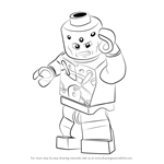 How to Draw Lego Brainiac