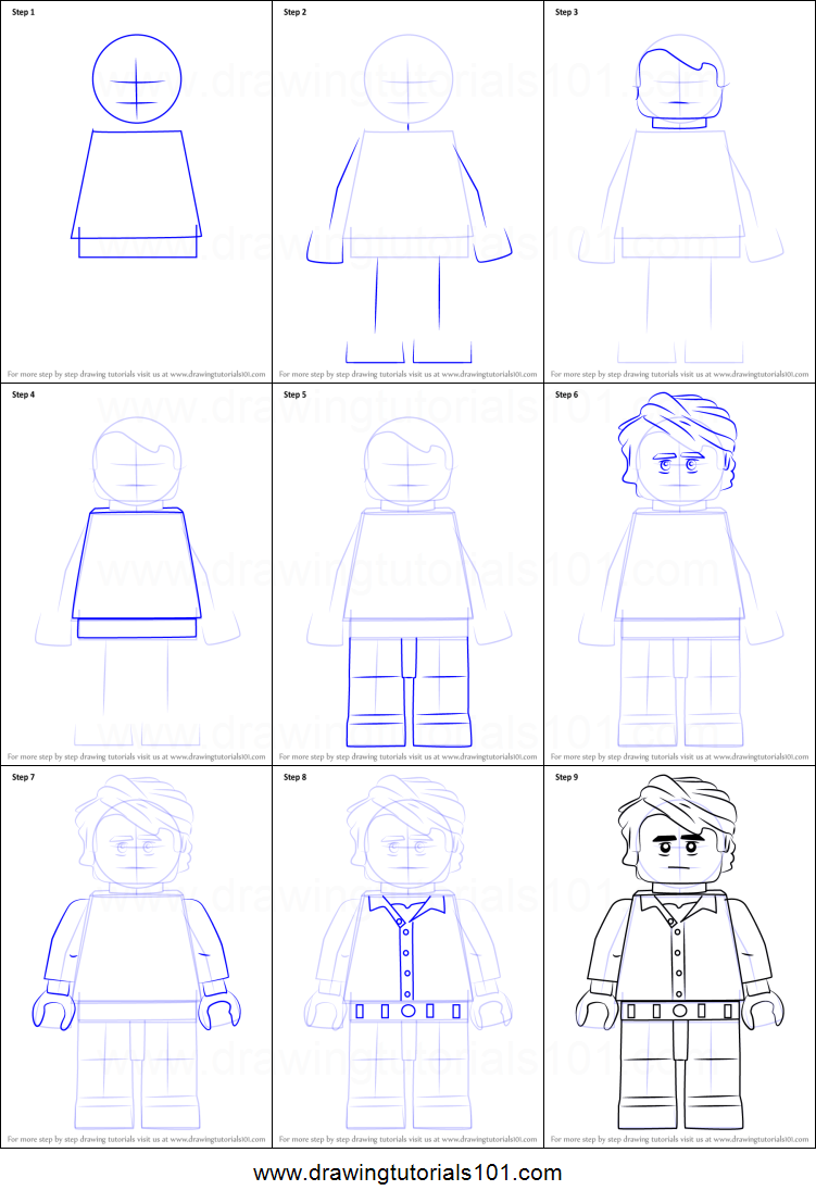 how to draw lego bruce banner printable step by step drawing sheet   drawingtutorials101 com