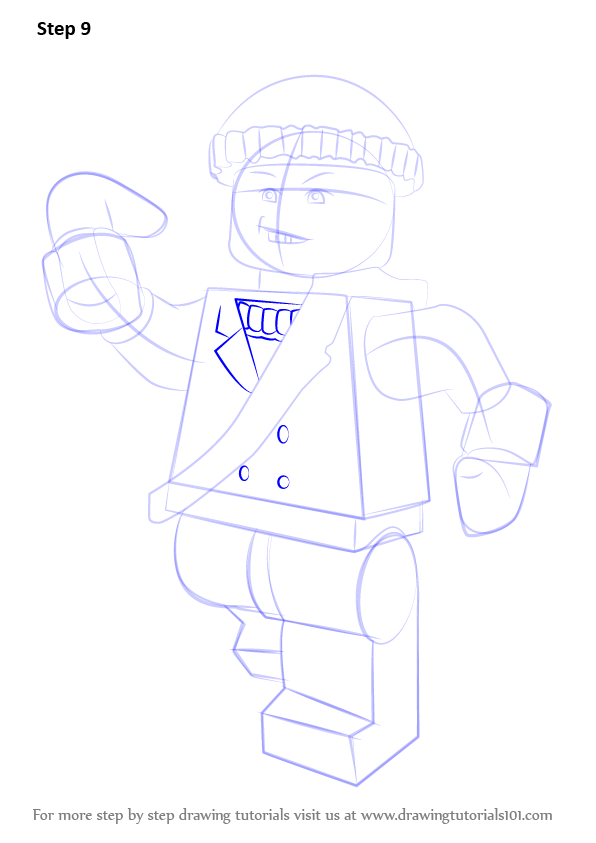 Learn How To Draw Lego Captain Boomerang Lego Step By