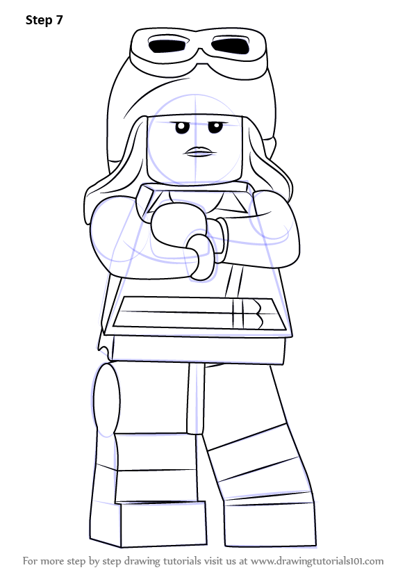 learn how to draw lego cloud 9  lego  step by step   drawing tutorials