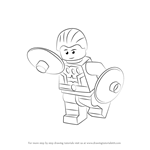 How to Draw Lego Cosmic Boy