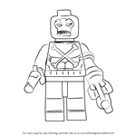 How to Draw Lego Crossbones