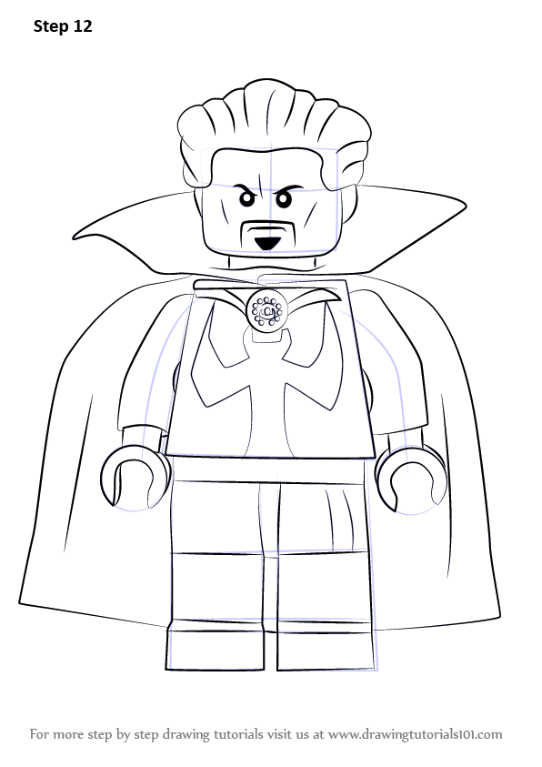 Learn How to Draw Lego Doctor Strange