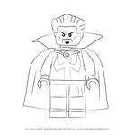 How to Draw Lego Doctor Strange