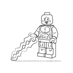 How to Draw Lego Electro