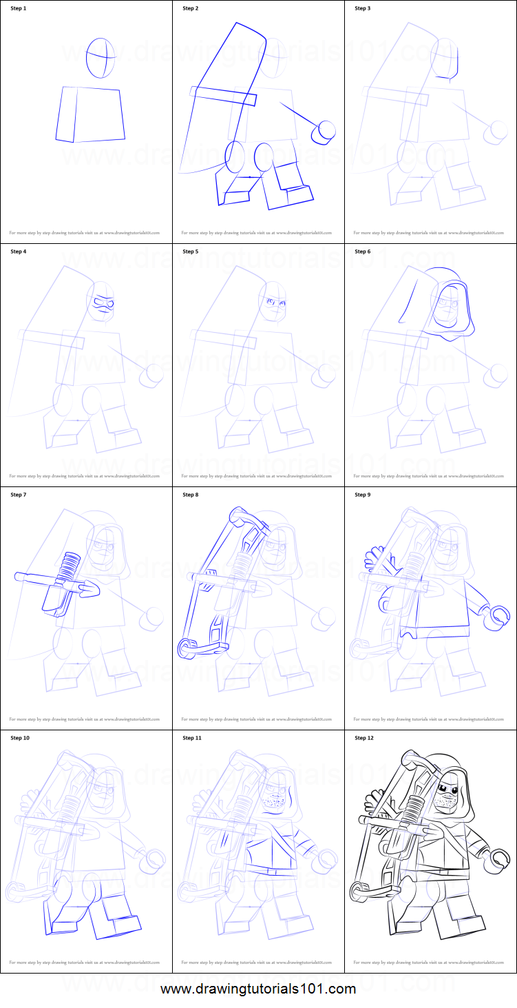 How to draw lego green arrow printable step by step for How to make doodle art