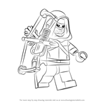 How to Draw Lego Green Arrow