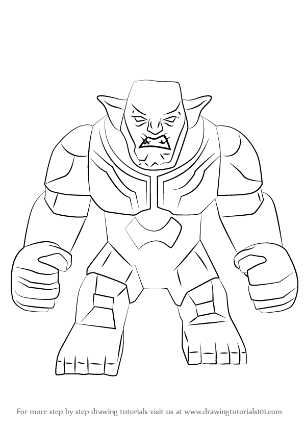 learn how to draw lego green goblin  lego  step by step