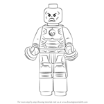 How to Draw Lego Iron Skull