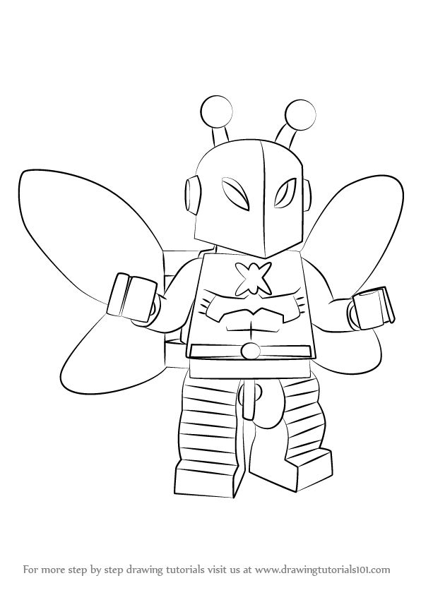 Learn How to Draw Lego Killer Moth