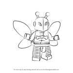 How to Draw Lego Killer Moth