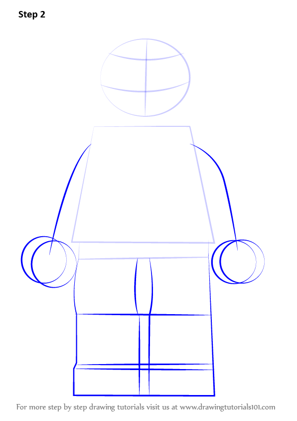 Step by Step How to Draw Lego Miles