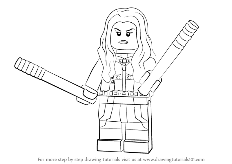 How To Draw Lego Mockingbird