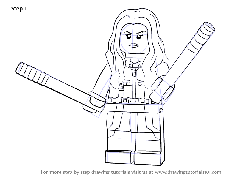 Learn How To Draw Lego Mockingbird Step By Drawing