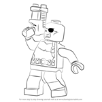 How to Draw Lego Nick Fury