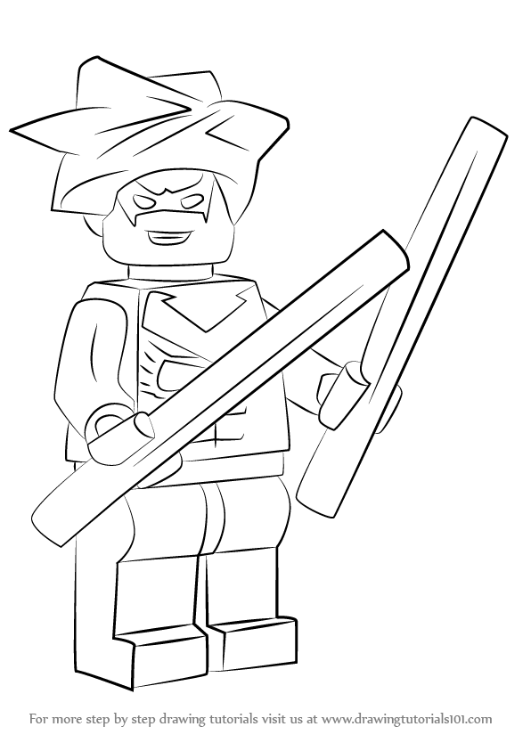 learn how to draw lego nightwing lego step by step drawing all lego coloring pages all lego coloring pages - Nightwing Coloring Pages
