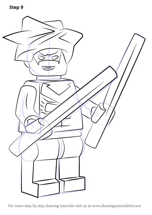 Learn How to Draw Lego Nightwing