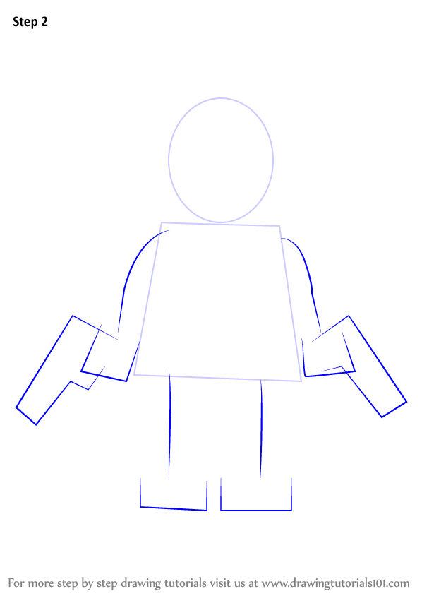 Red House Drawing: Learn How To Draw Lego Red Hood (Lego) Step By Step