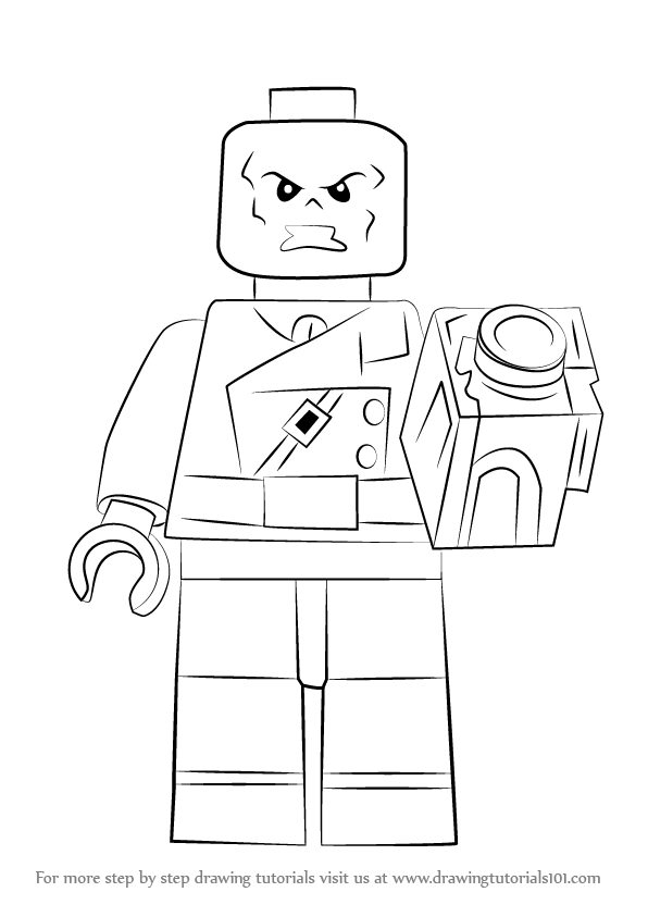 lego red skull coloring pages