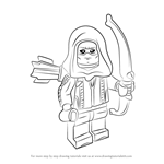 How to Draw Lego Roy Harper