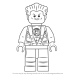 How to Draw Lego Sinestro
