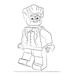 How to Draw Lego Stan Lee