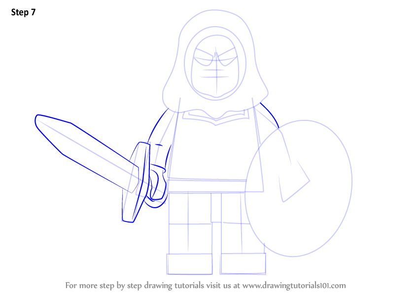 Learn How To Draw Lego Taskmaster Lego Step By Step