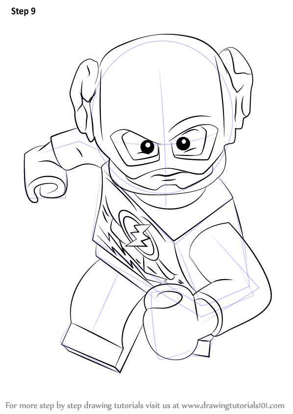 lego flash coloring pages - photo #2