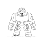 How to Draw Lego The Hulk