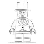 How to Draw Lego The Penguin