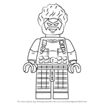 How to Draw Lego Trickster