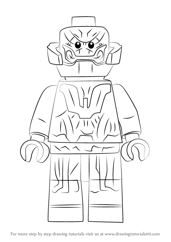 Learn How to Draw Lego Ultron Lego