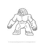 How to Draw Lego Wendigo